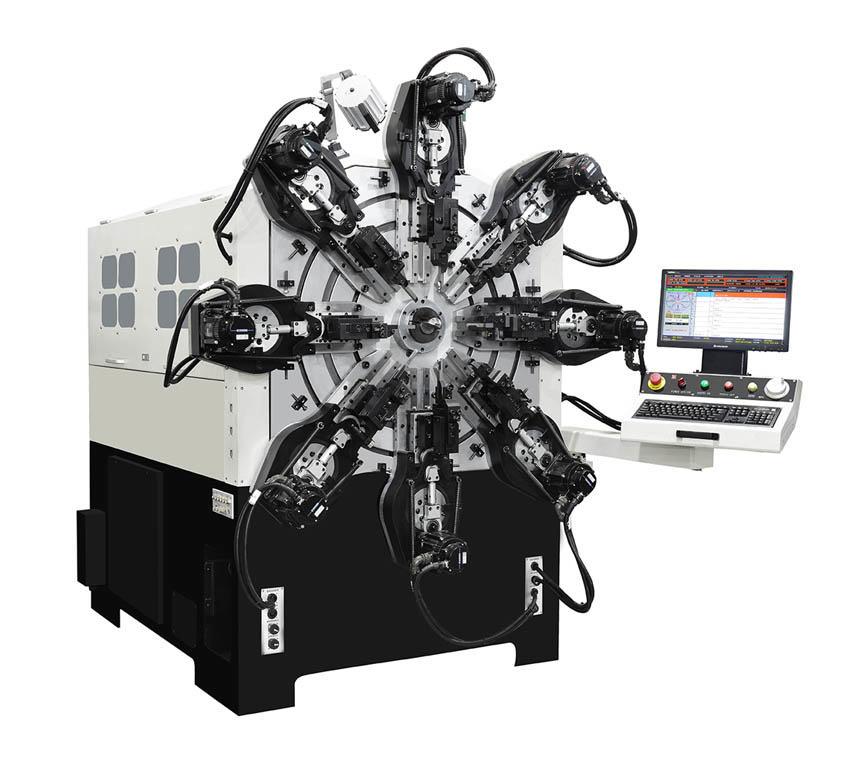 CMM-12-420R Spring Machine